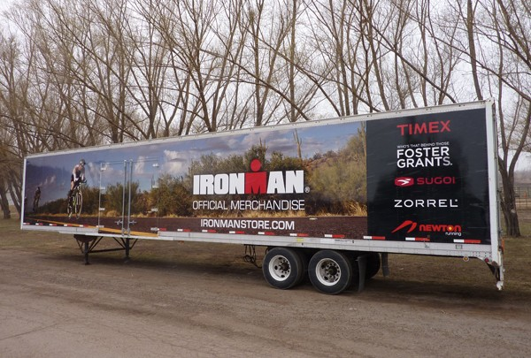 ironman trailer wrap - Certified Instals in Valmont Rd.