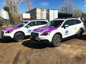 Vehicle wraps in Denver